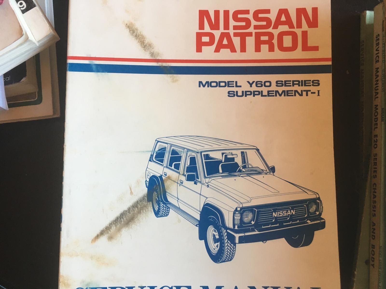nissan patrol 2006 service manual