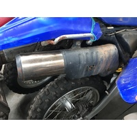 WRECKING YAMAHA TTR 250  THIS LISTING IS FOR THE USED MUFFLER / EXHAUST