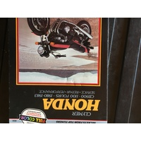 HONDA CB900 100 FOURS 1980 1983  CLYMER WORKSHOP MANUAL