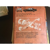 HOLDEN 6 CYL 1966 1972 AUTOPRESS WORKSHOP SERVICE MANUAL