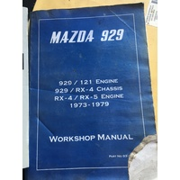 MAZDA 929 1973 1979 BOOKWORKS WORKSHOP MANUAL