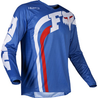 FOX RACING 180  COTA BLUE MX OFF ROAD EXTRA LARGE JERSEY