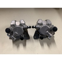 YAMAHA GRIZZLY YFM 600 FRONT BRAKE CALIPER CALIPERS BRAND NEW NISSIN PAIR