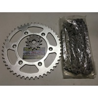 HONDA XR 250 R CHAIN  SPROCKET KIT 13 50 MTX SPROCKETS 520 XRING CHAIN 96 - 05