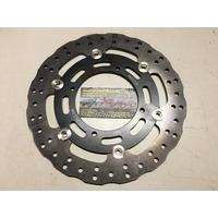 KAWASAKI KX 125 250 500 KDX 200 FLOATING FRONT BRAKE DISC  MOTO 056W
