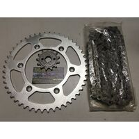 HONDA CRF 450 X  CHAIN AND SPROCKET KIT 13 50 MTX SPROCKETS TX4 X RING 520 CHAIN