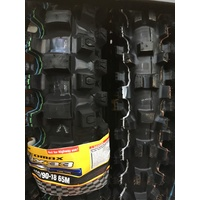 ALL NEW DUNLOP GEOMAX MX 33  FRONT & REAR TYRE 80 100 21 120 90 18