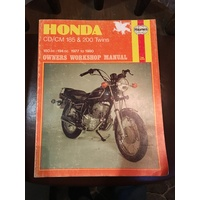 HONDA CD CM 185 200 TWINS 1977 1980 HAYNES MANUAL