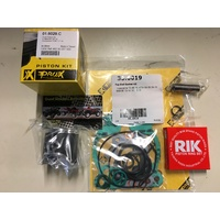 PRO X TOP END REBUILD KIT PISTON GASKETS  KTM 65 SX 09 - 18 HUSQVARNA TC 65 SIZE D 44.99