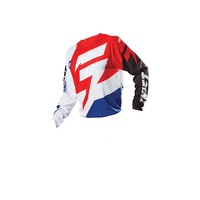 SHIFT FACTION WHITE / RED JERSEY SIZE ADULT SMALL