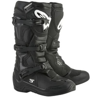 ALPINESTARS TECH 3 BLACK OFF ROAD DIRT BIKE MX BOOTS SIZE 12 ADULT MENS