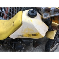 WRECKING SUZUKI DS 80 PARTS  THIS IS FOR A YELLOW PLASTIC FUEL PETROL TANK