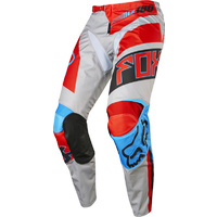 FOX RACING 180 FALCON 2017 GREY - RED  MX OFF ROAD PANTS SIZE 38