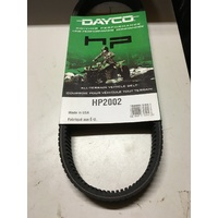POLARIS ATP 500 330  SPORTSMAN HAWK EYE 400 DRIVE BELT  DAYCO  HP 2002
