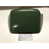 KLF 300 KAWASAKI DARK GREEN TANK COVER PLASTIC -  BETWEEN SEAT AND FUEL TANK