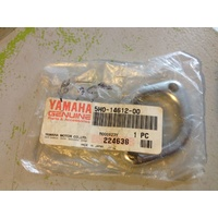 YAMAHA EXHAUST HEAD PIPE RING / MOUNT , PLATE PART NO 5H0-14612-01