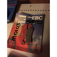 EBC BRAKE PADS HONDA CR 125 250 500 XL XR 250 600 FA 125 tt