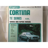 FORD CORTINA TE 4CY GREGORYS  WORKSHOP MANUAL