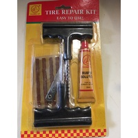 ATV QUAD TYRE REPAIR KIT - PATCH / STICKY ROPE  OFF ROAD 4X4