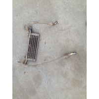 HONDA TRX 450 4X4  WRECKING PARTS OIL COOLER AND LINES