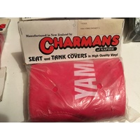 VINYL SEAT COVER YAMAHA BADGER YFM 80  RED