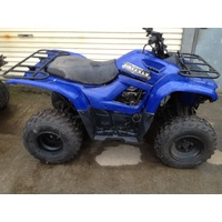 YAMAHA GRIZZLY 300 2012  REAR PLASTIC FENDER BLUE           QUAD WRECKERS