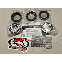 YAMAHA BRUIN 350 BIGBEAR 400 FRONT WHEEL BEARINGS AND SEALS KIT ALL BALLS 1108