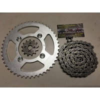 HONDA CRF & XR 80 R CHAIN & SPROCKET KIT 14 T FRONT 46 T REAR 420 CHAIN