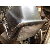 HONDA TRX 450 4X4  WRECKING PARTS HEAD LIGHT AND POD / MOUNT