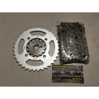 YAMAHA TTR 50   CHAIN & SPROCKET KIT SET 14 T FRONT 35 T REAR 420 CHAIN
