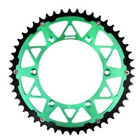KAWASAKI 50 T REAR SPROCKET STATES MX GREEN KX KXF KLX KDX