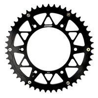 KAWASAKI 48 T REAR SPROCKET STATES MX BLACK KX KXF KLX KDX