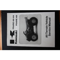 GENUINE KAWASAKI SERVICE WORKSHOP MANUAL '97-'98 PRAIRIE 400 4X4/ PRAIRIE 400