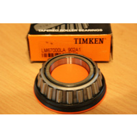 TIMKEN part number LM67000LA Tapered Roller Cone Bearing SEALED TYPE