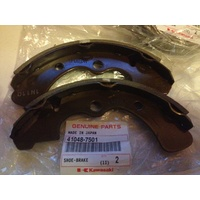 GENUINE KAWASAKI FRONT BRAKE SHOES 41048-7501  MULE 3000 3010 4010