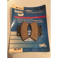 BENDIX BRAKE PADS POLARIS 250 300 350 400 425 500 SPORTSMAN TRAIL MAGNUM  MO 217