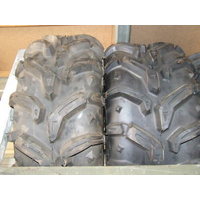 ATV TYRES 25 X 12 X 9, DEESTONE SWAMP WHITCH