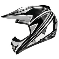 M2R X2.5 BRANDED HELMET SILVER KTM MX DIRT BIKE PC5 SIZE LARGE