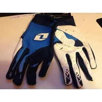 ONE INDUSTRIES BLUE ZERO  SIZE 10 LARGE  GLOVE   MX OFF ROAD BMX
