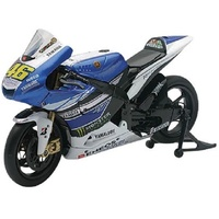 VALENTINO ROSSI YAMAHA M1  MOTO GP 46 TOY  MODEL  DIECAST  1:12 SCALE