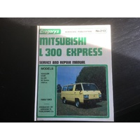 MITSUBISHI L300 EXPRESS GREGORYS  WORKSHOP MANUAL