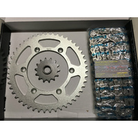 SUZUKI DRZ 400  CHAIN AND SPROCKET KIT 14 47 MTX SPROCKETS X RING 520 CHAIN