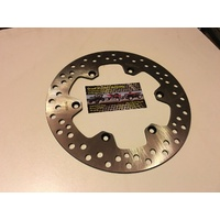 SUZUKI DRZ 400  KLX REAR  STAINLESS STEEL BRAKE DISC 106