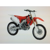 HONDA CRF 250 TOY MODEL DIECAST 1:12 SCALE GIFT IDEA CHRISTMAS