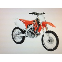 HONDA CRF 450 TOY MODEL DIECAST 1:12 SCALE GIFT IDEA CHRISTMAS