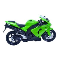 KAWASAKI ZX 10 GREEN TOY MODEL DIECAST 1:12 SCALE GIFT IDEA CHRISTMAS