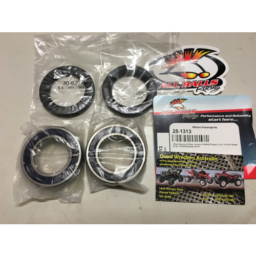 YAMAHA BLASTER 200 REAR AXLE CARRIER WHEEL BEARING & SEAL KIT 25-1313