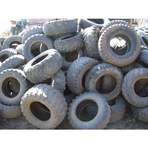USED ATV TYRES HANDY FOR HORSE POLES  TREES SILAGE FREE