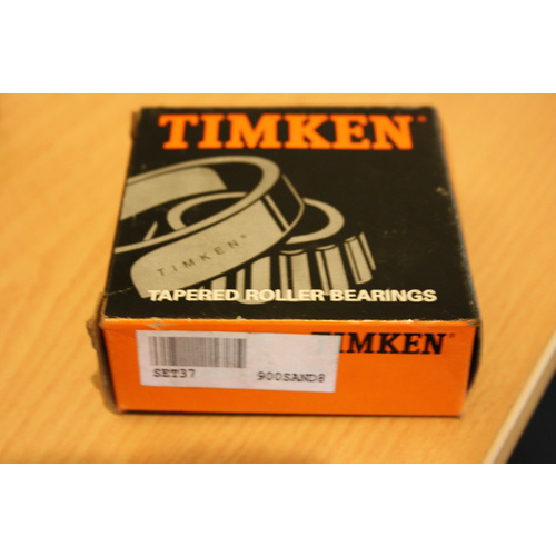 Timken Set37 LM603049//LM603011 Cup /& Cone Set 37